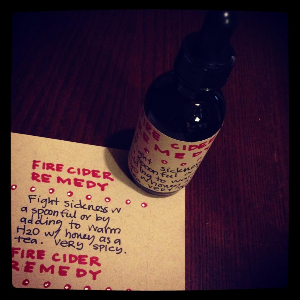 Fire Cider Remedy