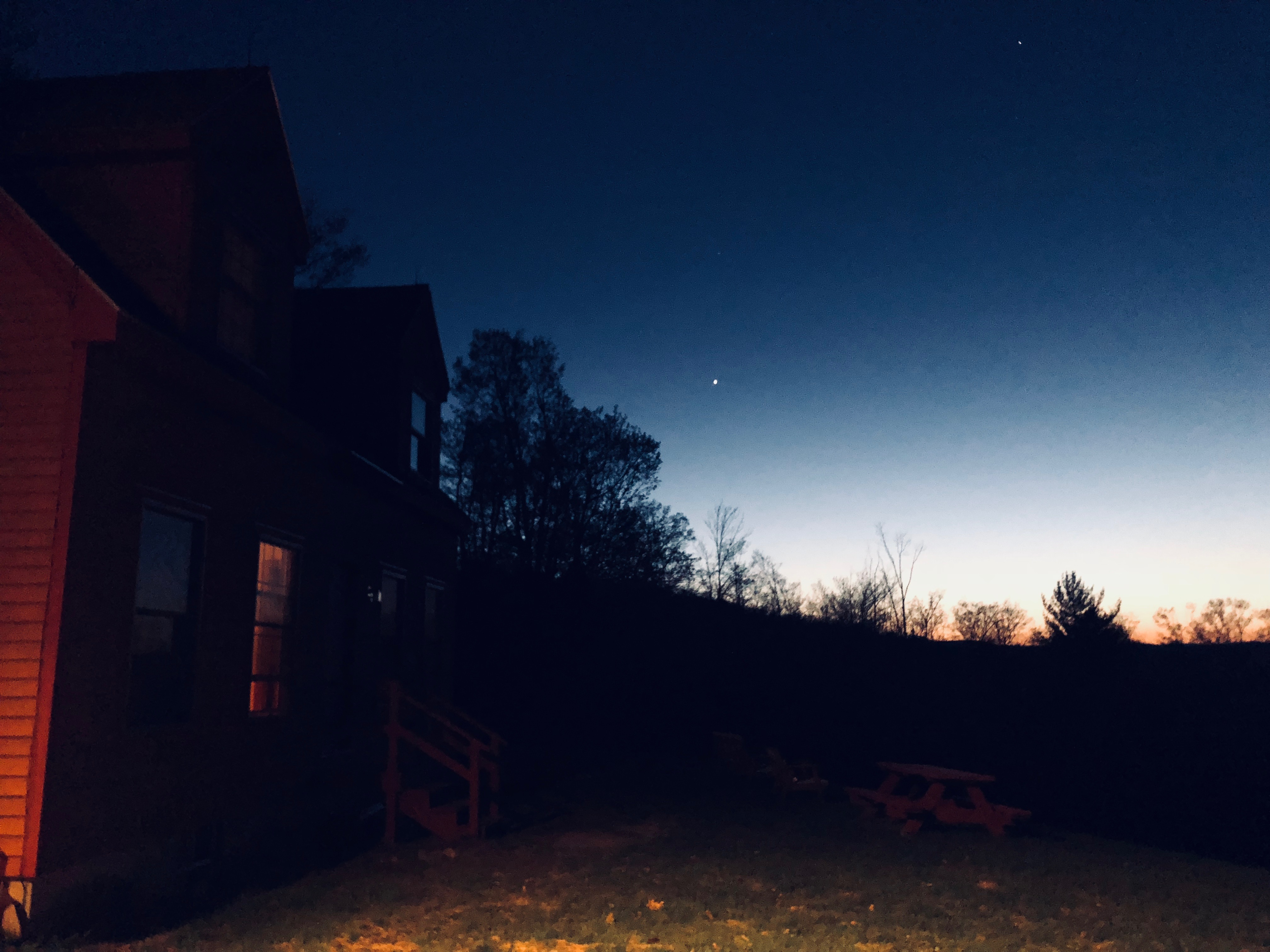 The night sky in Guilford, VT